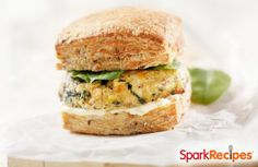 Greek Turkey Burgers (Spanikopita Burgers) via @SparkPeople