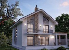 regasim, conform proiectului, si un grup Classic House Design, Small House Design, Modern House Design, Courtyard Design, Facade Design, Village House Design, Loft Interior Design, Kerala Houses, Cottage Plan