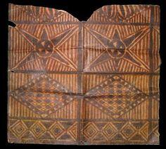 Tapa Cloth, American Samoa | Museum of Natural and Cultural History