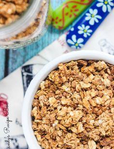 nice Cinnamon Granola {Slow Cooker Recipe}