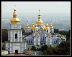 The Golden Domes!