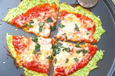 Skinny Zucchini Pizza Crust - GF
