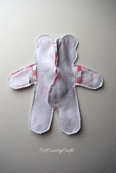 OK. I really can't take credit for this idea. A friend asked me to make a stuffed bear from the outfit her baby wore home from the hospital. She got the idea from Pinterest and it was a bad link so I can't source it. So, I had to come up with my own bear pattern. I used as few pieces as possible, but some extra stitching gives it more shape and allows it…