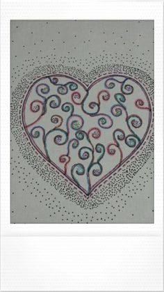 Desenhando... cor... coração... emoção...