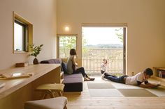 Japanese Home Design, Japanese House, Living Room And Kitchen Design, Muji Home, Japan Interior, Interior Decorating, Interior Design, Home Projects, Interior Inspiration