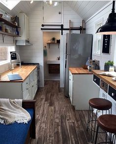"""2,815 Likes, 36 Comments - Tiny Houses (@tinyhouse) on Instagram: """"Tag a friend who could live here! Tiny Home in Texas owned by couple"""""""