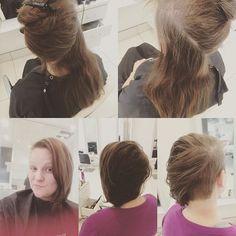 Cute asymmetrical haircut today! #gorgeous #toniguyusa #toniguyportico #toniguy #btcapproved #haircut #ryangoodmanstylist #awesome #amazing #asymmetrical