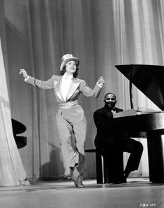 """Eleanor Powell dancing to """"Fascinating Rhythm"""" in """"Lady Be Good. 3 Movie, Picture Movie, Movie Stars, Movie Theater, Golden Age Of Hollywood, Classic Hollywood, Old Hollywood, Hollywood Stars, Tap Dance"""
