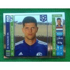Football Soccer Sticker Panini UEFA Champions League 2014 #517 FC Schalke 04