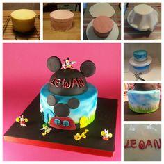 Gateau #michey #cake #pateasucre #fondant #CBMS