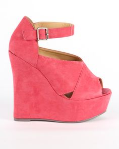 Carrie Wedge  @ Doll Boutique  http://www.dollboutique.co.uk/shop/Womens-Shoes/Carrie-Wedge-Coral