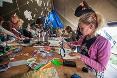 Into The Great Wide Open 2014 #Vlieland #ITGWO kinderactiviteiten (credits foto: Sander Heezen)