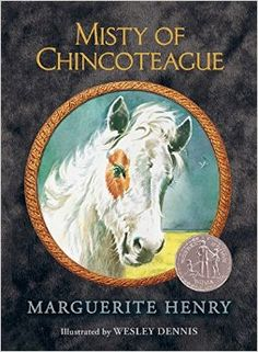 MARYLAND **** 1947: Marguerite Henry publishes the book Misty of Chincoteague, about the ponies of Assateague Island. **** #the50states #marylandbooks **** Misty of Chincoteague: Marguerite Henry: 9781481435284: Amazon.com: Books