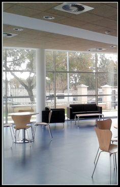 La comodidad de una #cafeteria y las ventajas de un centro de trabajo, Cafetería Lab, con #WIFI gratis