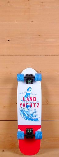 "The Landyachtz 29"" Dinghy is designed for cruising. Pressed with 7 plies of maple, it measure 28.5"" long and 8"" wide. The directional shape has kicktail for agility and wheel wells to avoid wheel bite. The platform has radial concave for foot support."