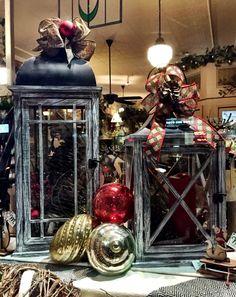 Vintage lanterns for Christmas