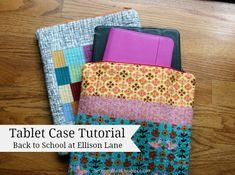 Tablet Case Tutorial: Back to School with Ellison Lane - Ellison Lane Quilts