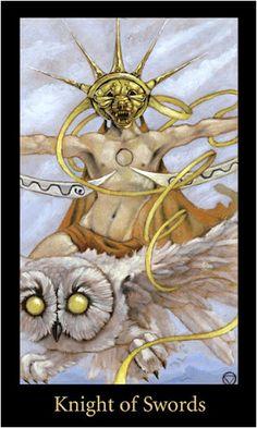 Bài viết Lá Knight of Swords – Bộ Bài Mary-el Tarot bài tarot