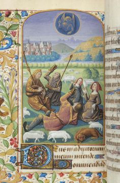 MS M.0366, fol. 055v, Pierpont Morgan Library, Book of Hours, 1465-1475