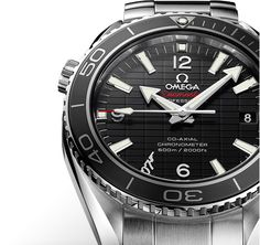 """OMEGA Seamaster Planet Ocean 600 M """"Skyfall"""" limited edition has the 007 logo at the 7 o'clock position • OMEGA boutique Fashion Valley"""