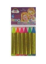 Sminke stifter i neon farver. 39,-