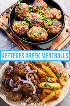 Everybody loves meatballs, right? Have you ever tried Greek Keftedes meatballs. If not, check out this easy and quick recipe that you can serve with just about anything. Rice, pasta, potatoes you name it! This recipe is so simple and delicious it's bound to become a new family favorite. #GreekMeatballs #Keftedes #GreekRecipe