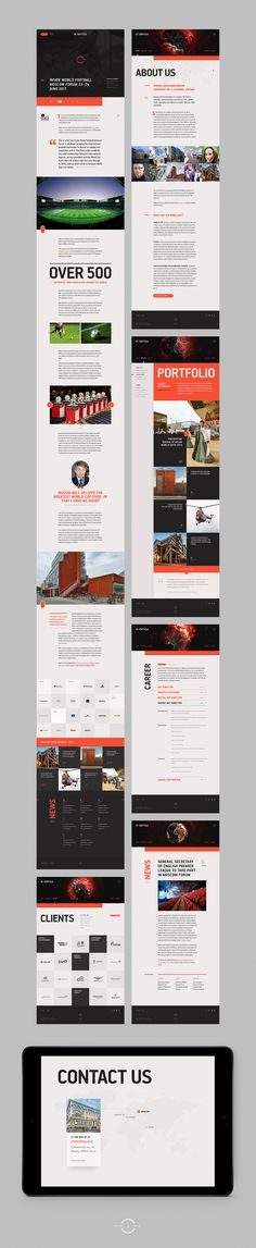 Eventica Communications, Rebranding on Behance