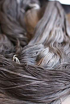 the perfect dye job! Color Lavanda, Touch Of Gray, Yarn Thread, 50 Shades Of Grey, Hand Dyed Yarn, Knitting Yarn, Textures Patterns, Color Inspiration, Textiles