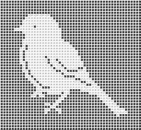 Filet crochet, bird, crochet patterns, free, dolies, hat, crocheting, crochet charts and motifs - www.free-crochet-patterns.rucniprace.cz
