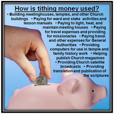 lds tithing handouts