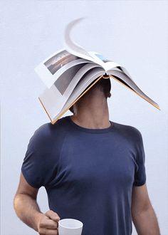 Humorística fotografía conceptual en movimiento de Romain Laurent | TodoGraphicDesign