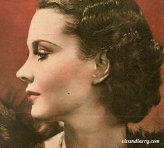 Vivien Leigh publicity portrait for DARK JOURNEY (1937)
