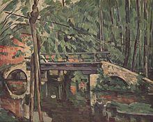 Le pont de Maincy, par Paul Cézanne