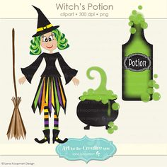 Witch Clipart Halloween Clipart Cauldron clip by LanaKoopmanDesign, Witch Clipart, Halloween Clipart, Witch Potion, Cauldron, Bing Images, Art Ideas, Clip Art, Stickers, Christmas Ornaments