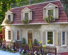 Charming dollhouse by Robin Carey