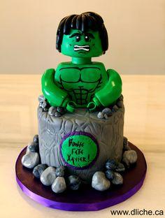Gâteau Hulk!!! Hulk cake!!