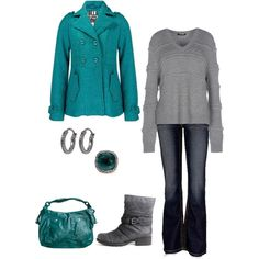 """""""Billabong Shawna Coat, Buckle Boots"""" by mmessenger on Polyvore"""