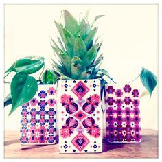 EmilieBok' - La Maroma collection porcelain planters