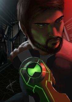 Kids Cartoon Montre projecteur super héros Ben10 Cosplay Lighting 24 images