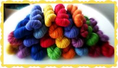 Dutch Flowers | Red Riding Hood Yarns On October 3rd, Red Riding Hood, Yarns, Holland, Dutch, Initials, Wool, Flowers, Cotton