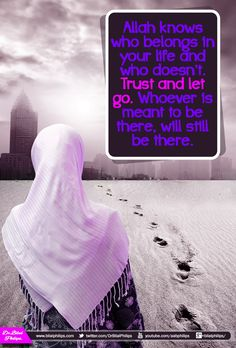 Faith is trusting Allah even when you don't understand His plan.  And Allah is the best of planners.