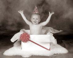 cute 1st birthday photo prop ideaj