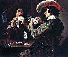 Theodoor Rombouts, Card Player on ArtStack #theodoor-rombouts #art