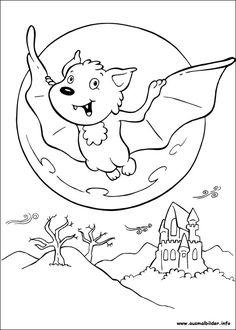 halloween ausmalbilder kostenlos – Ausmalbilder für kinder