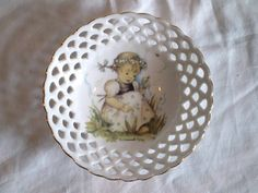 Sweet Vintage Hummel Plate by jclairep on Etsy, $12.00