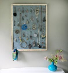 photo to explain my frame jewelry organizers Inspiration Ideas