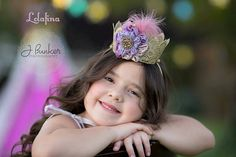 Gold Crown...Lace crown on by lolafina on Etsy
