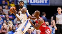 A fresh era officially started for three of the NBA's stars on Tuesday night at Tulsa's BOK Center, as Carmelo Anthony, Paul George and Chris Paul made their preseason debuts for their new teams following offseason trades....