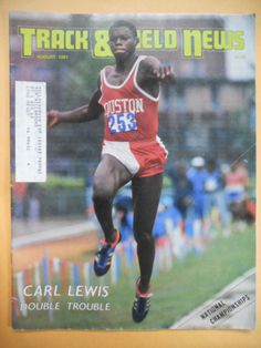 269d2cb83 1981 Track Field News Carl Lewis 1st Cover August  81