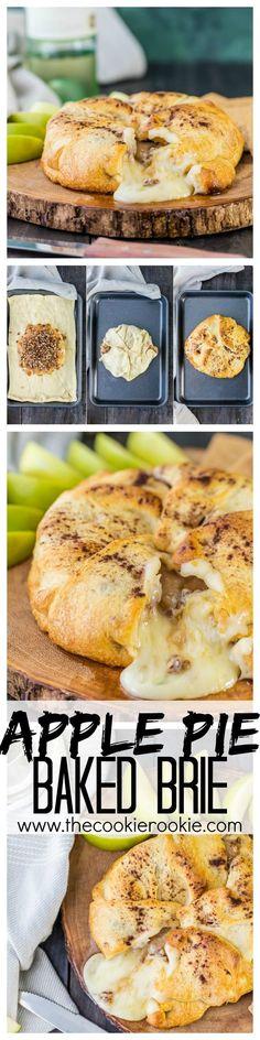 Apple Pie Bakes Brie